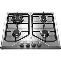 Cooktop a Gás, Mesa de Inox, 4 Queimadores, Inox, Bivolt, Electrolux