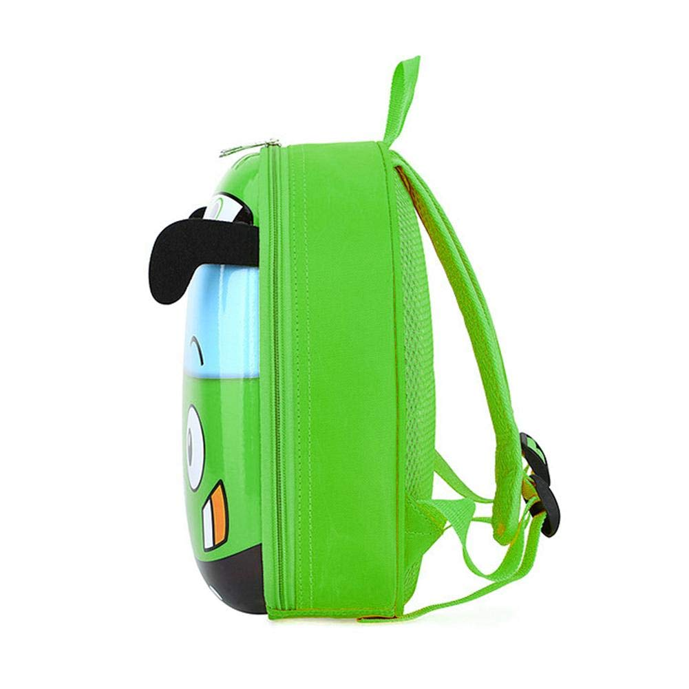 Amazingdeal 3D Cartoon Bus Kindergarten Children School Bag Toddler Girls Boys Backpack