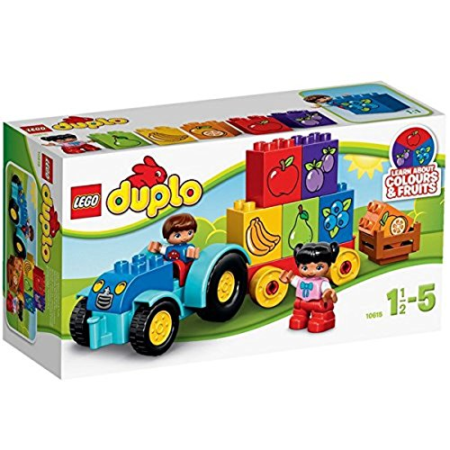LEGO Duplo 10615 - Mein erster Traktor, Lernspielzeug für Kleinkinder 301376 Alltagszenen und Menschen