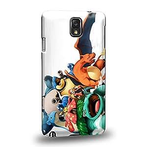 Case88 Premium Designs Pokemon Venusaur Blastoise Lapras Snorlax Protective Snap-on Hard Back Case Cover for Samsung Galaxy Note 3