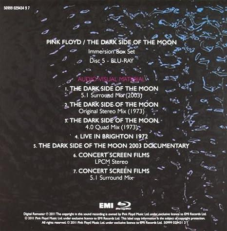 pink floyd dark side of the moon remastered zip