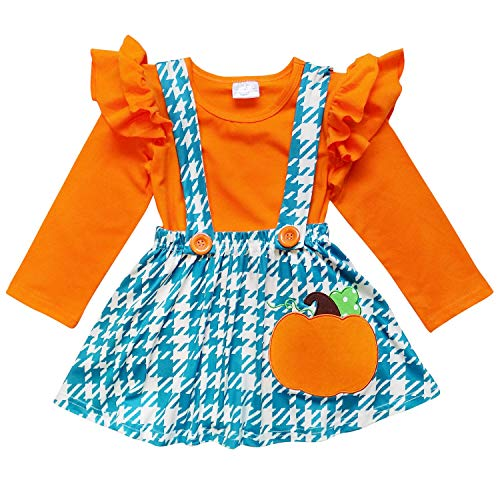 So Sydney Suspender Skirt 2 Piece Outfit, Girls