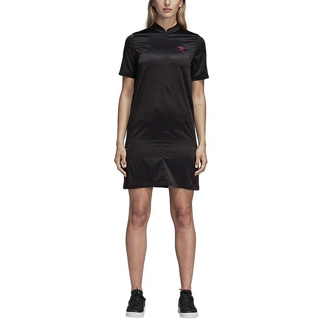 adidas Vestido Lf TDress Satin Negro 30 XS (X-Small)