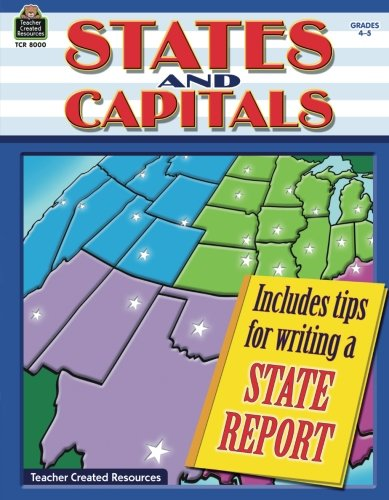 States And Capitals Grd 4 5
