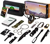 14 in 1 Emergency Survival Kit - Ultimate EDC Tactical Tool with Knife