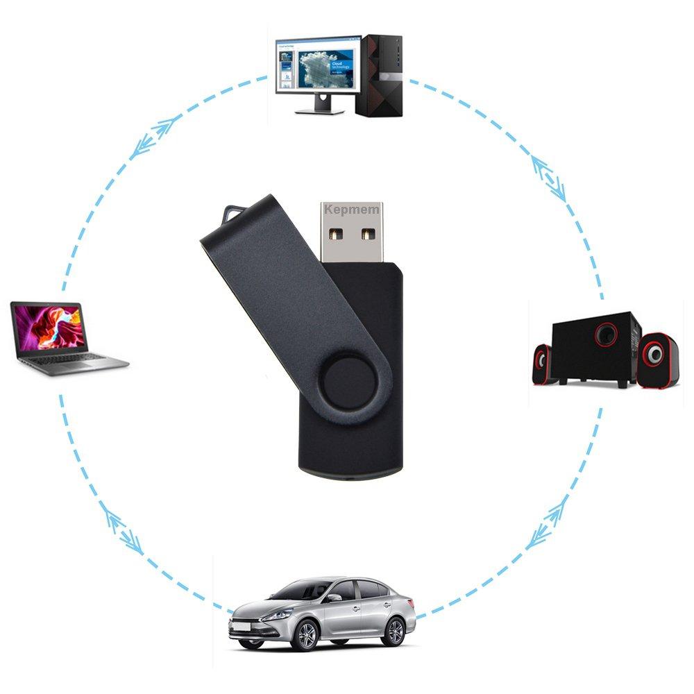 Colores Mezclado Regalos Promocionales Memoria USB by Kepmem Pendrive 128MB 10 Piezas Almacenamiento de Datos Extern