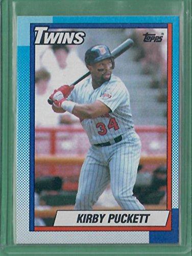 1990 topps kirby puckett - 4