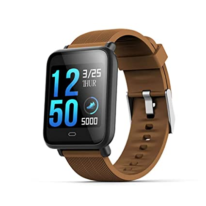 Amazon.com: Uhruolo Smart Watch, Fitness Tracker Watch Heart ...