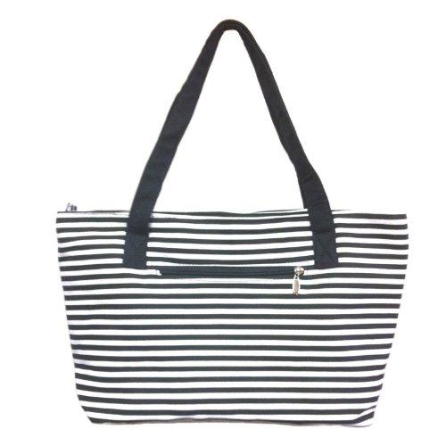 Striped Tote Bag: Amazon.com