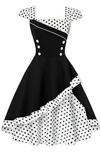 60er kleider petticoat