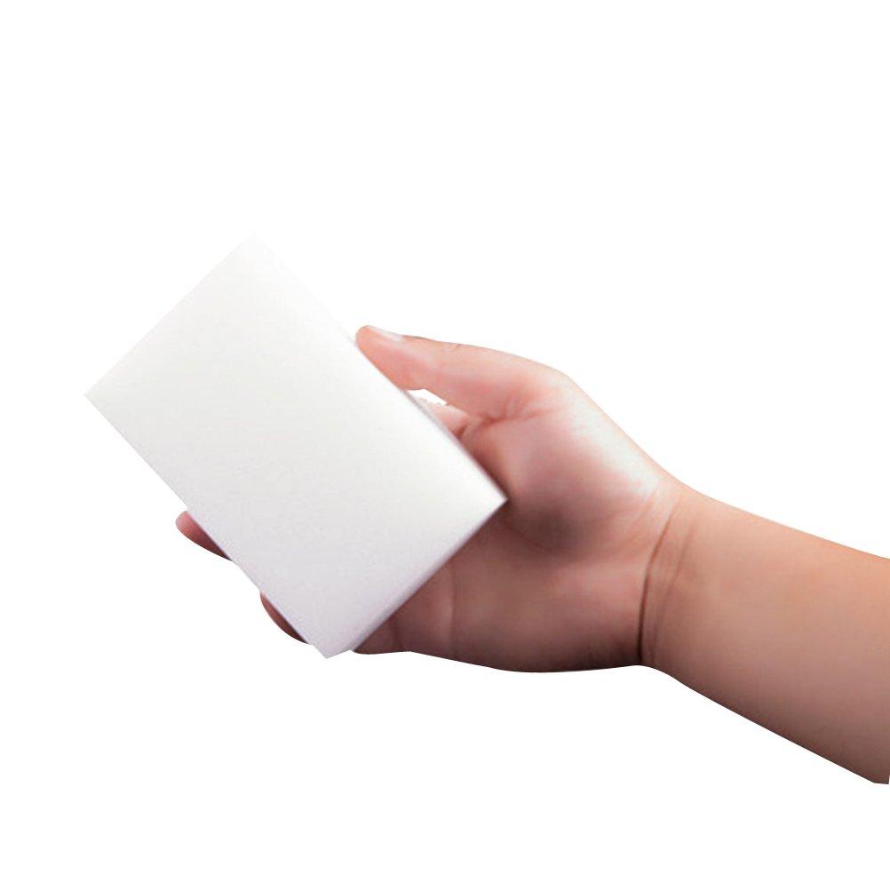 blanco BESTOMZ Esponja de limpieza m/ágica 8pcs Nano el mejor art/ículo de alta densidad adicional para la cocina cepillo de lavado fuerte del borrador