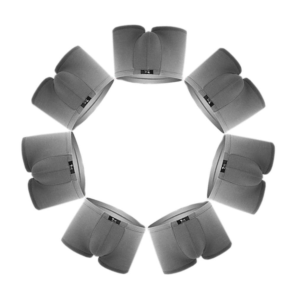 SLJ Men's Stretchable Super Soft Modal Boxer Briefs(Pack of 7)