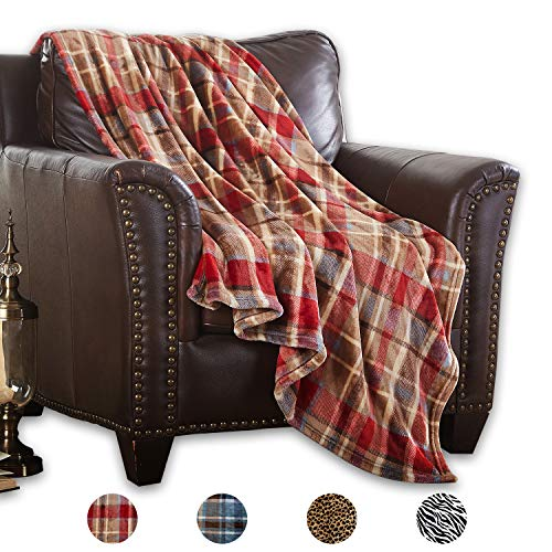 """MERRYLIFE Decorative Throw Blanket Ultra-Plush Comfort   Soft, Colorful, Oversized   Home, Couch, Outdoor, Travel Use   (50"""" 60"""", Love Urban)"""