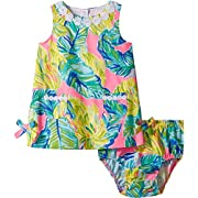 Lilly Pulitzer Kids Baby Girl's Baby Lilly Shift (Toddler/Little Kids/Big Kids) Pink Sunset Local Flavor 3-6 Months