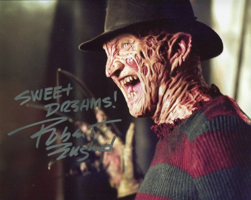 Autograph Original (Robert Englund Signed / Autographed A Nightmare on Elm Street 8x10 glossy photo portraying Freddy Krueger. Includes Fanexpo Certificate of Authenticity and Proof. Entertainment Autograph Original)