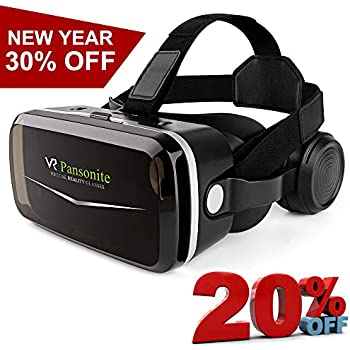b16ddecbc97  2018 Upgrade Version  Pansonite VR Headset with Remote Controller