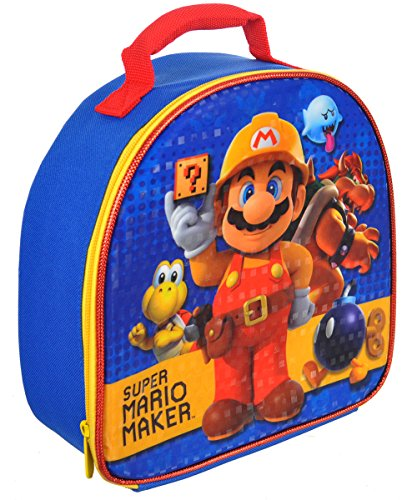 Super Mario Soft Lunch Box (Super Mario Maker) (Mario Accessory Child Kit)