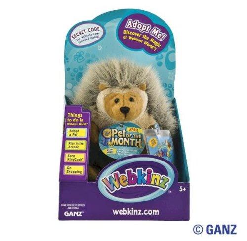 (Webkinz Hedgehog April Pet of the Month in Box)