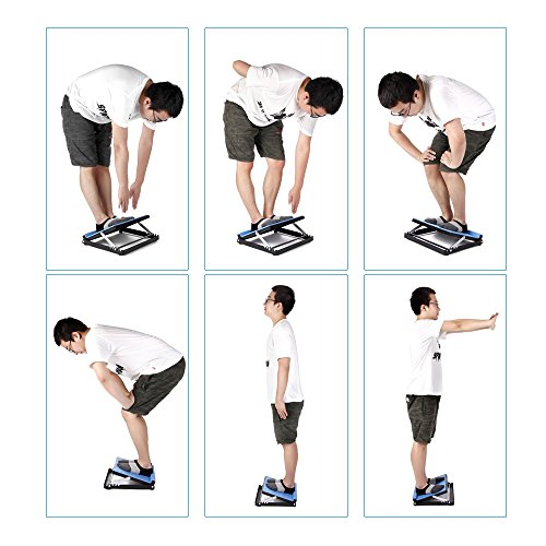 Neppt Slant Board Calf Stretcher Incline Stretching Board Ankle Therapy Stretch Wedge Achilles