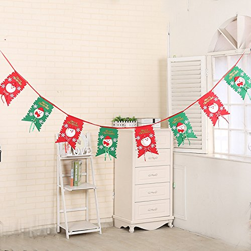 Christmas Tree Decorations Hanging Flags Eight Flags Six Flags Christmas Christmas Gifts Hotel Shopping Arrangement Square eight flags