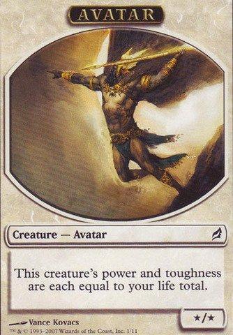 Magic: the Gathering - Avatar Token - Lorwyn