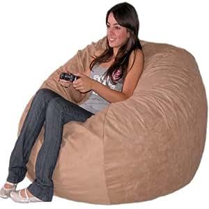 Amazon Com Cozy Sack 4 Feet Bean Bag Chair Large Medium