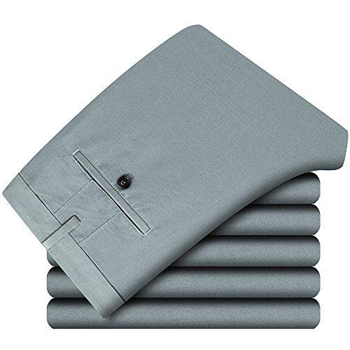 Casual Cendres Chino Pantalon Slim 100 Style Homme Coton Pantalons De Bleues Fit aOw6Cqqdx