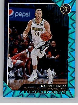 2018-19 NBA Hoops Teal Explosion  62 Mason Plumlee Denver Nuggets Official  Trading Card b27536cda
