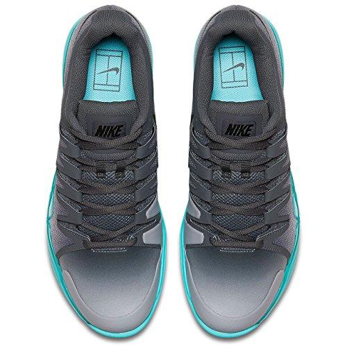 Nike - Air Zoom Vapor 9,5 Tour Klei Herren Tennisschuh Grau
