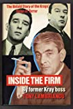 img - for Inside the Firm: The Untold Story of the Krays' Reign of Terror book / textbook / text book