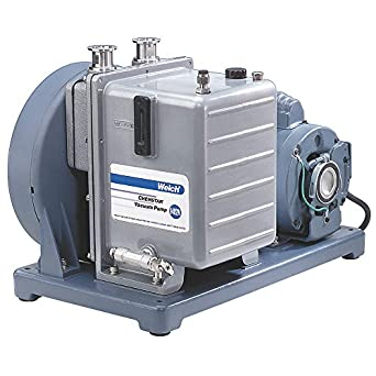 Corrosion Resistant Welch Vacuum 1376N-01 Chemstar Vacuum Pump 115V 1 HP 300 LPM