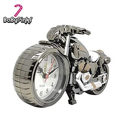Amazon.com: BaByPinkS Motorcycle Alarm Clock Shape Creative ...