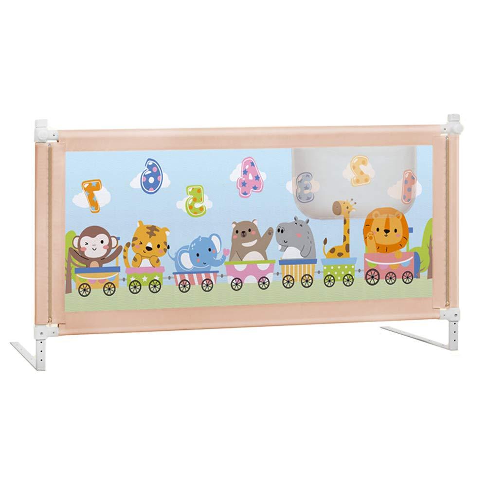 ベッドフェンス, 幼児用のポータブル安全ベッドレール、子供用、幼児用ベッドレール垂直エレベータガード - 高さ90cm (色 : STYLE 2, サイズ さいず : 150cm) 150cm STYLE 2 B07KM9VHC4