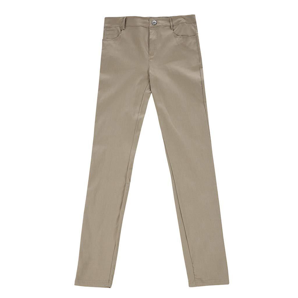 Vaqueros De Hombre Pantalon Casual Pantalones Slim para Hombre ...