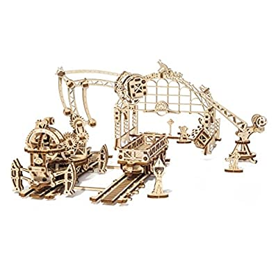 Ugears Citt Meccanica Manipolatore Ferroviario