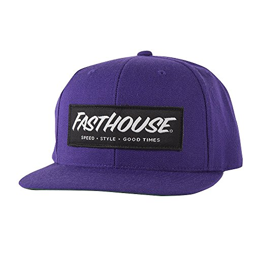 Fasthouse Speed Style Good Times Hat Purple Adult One Size