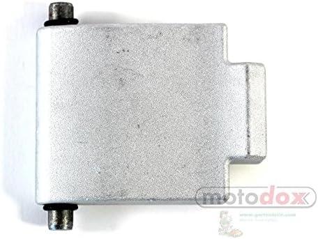 Gegenplatte Druckplatte f/ür Florabest H/äcksler FLH 2500 A1 und FLH 2500//9