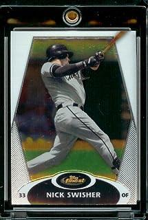 Topps 2008 meilleurs#49 Nick Swisher-Oakland athlétisme-Carte de Baseball à visser