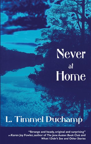 book cover of Never at Home