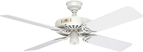 Hunter Fan Company Hunter 23845 Original 52″ White Ceiling Fan