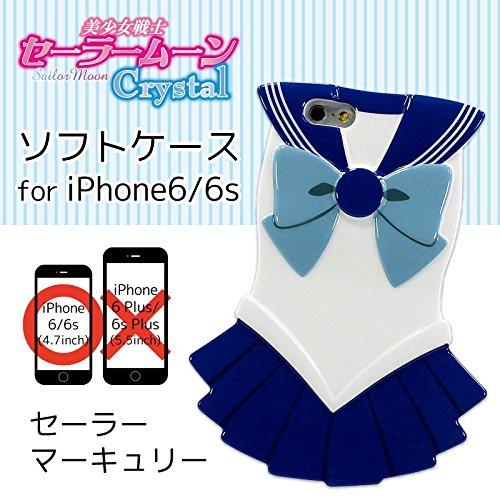 iPhone6s / iPhone6 Sailor Moon Crystal Sailor Mercury Costume type soft case SLM-51C