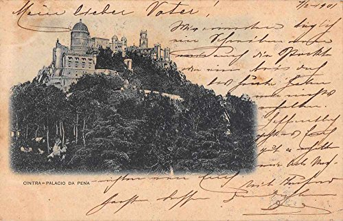 cintra-sintra-portugal-palacio-da-pena-pena-palace-antique-postcard-j59736