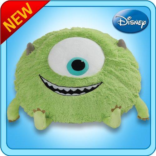 Pillow Pets Authentic Disney 18'' Mike, Folding Plush Pillow- Large