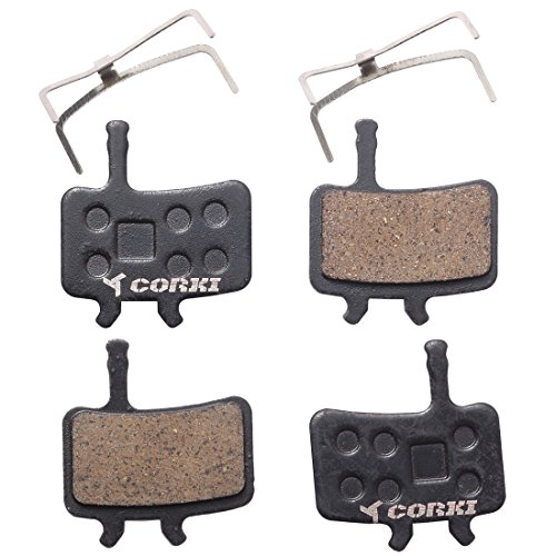 2 Pairs Bicycle Resin Disc Brake Pads for Avid BB7 Juicy 3 5 7
