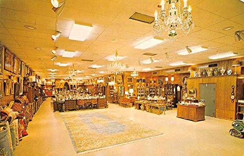 Rehoboth Beach Delaware Stuart Kingston Galleries Interior Postcard - Interiors Gallery