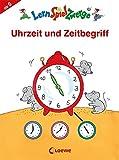 Uhrzeit und Zeitbegriff (LernSpielZwerge - Mal- und Rätselblocks)