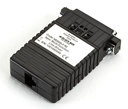 - Black Box Async/Sync RS232 Extender Over CATx DB25 F to RJ11/RJ45/TB