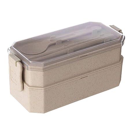 SHICCF Caja, Caja Contenedores con Cubiertos, Free, a Prueba de ...