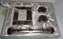 Cudlie 4 Piece Decor Gift Set-brown