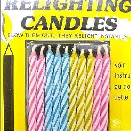 Amazon com: Funny Creative Birthday Candles! Magic